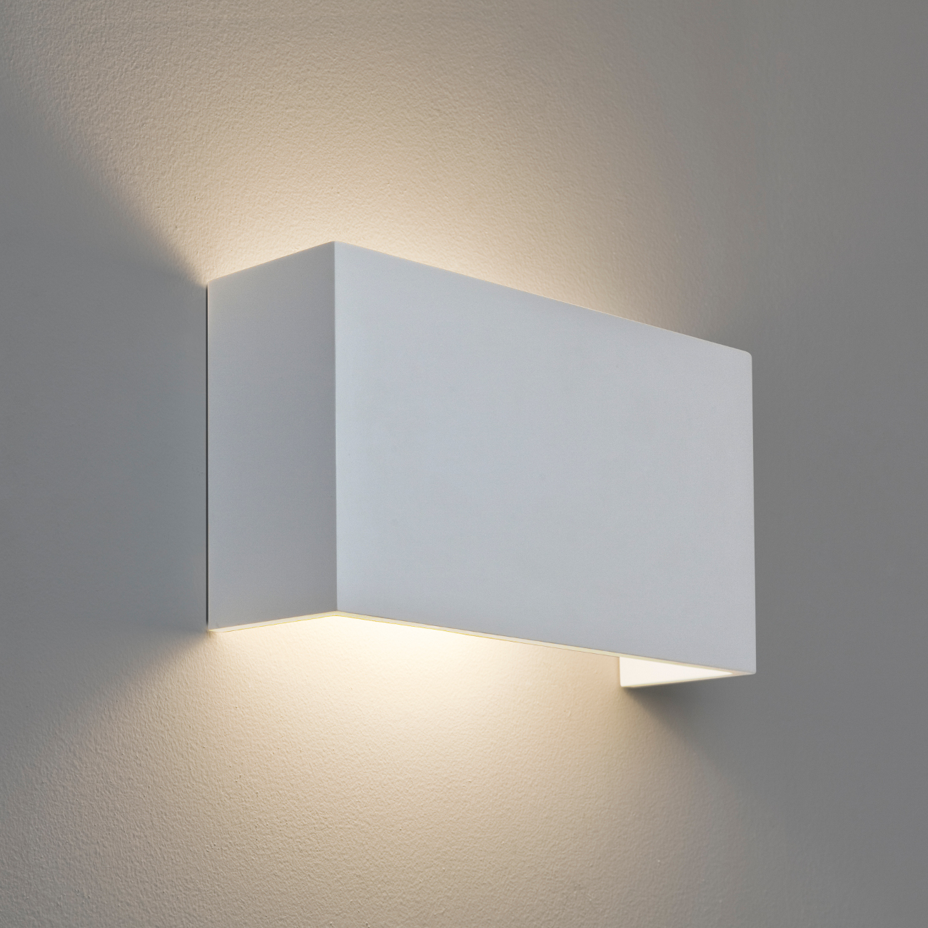 bedroom wall lights uk kastenf 246 rmige wandleuchte gips wei 223 up amp downlight pella 14465