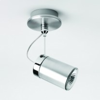Deckenspot / Wand-Leuchte in Aluminium MONTANA SINGLE