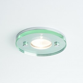 Einbaustrahler IP65 Design Glas/Chrom ICE ROUND NV B