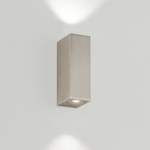 Badleuchten BLOC LED Nickel matt