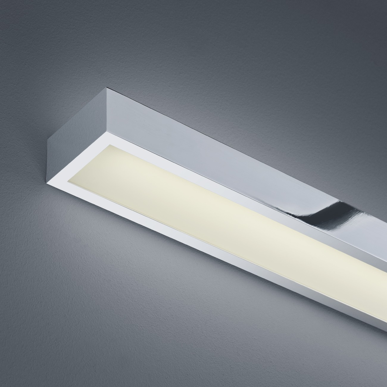 LED-Spiegelleuchte IP44 THEIA 600 Chrom