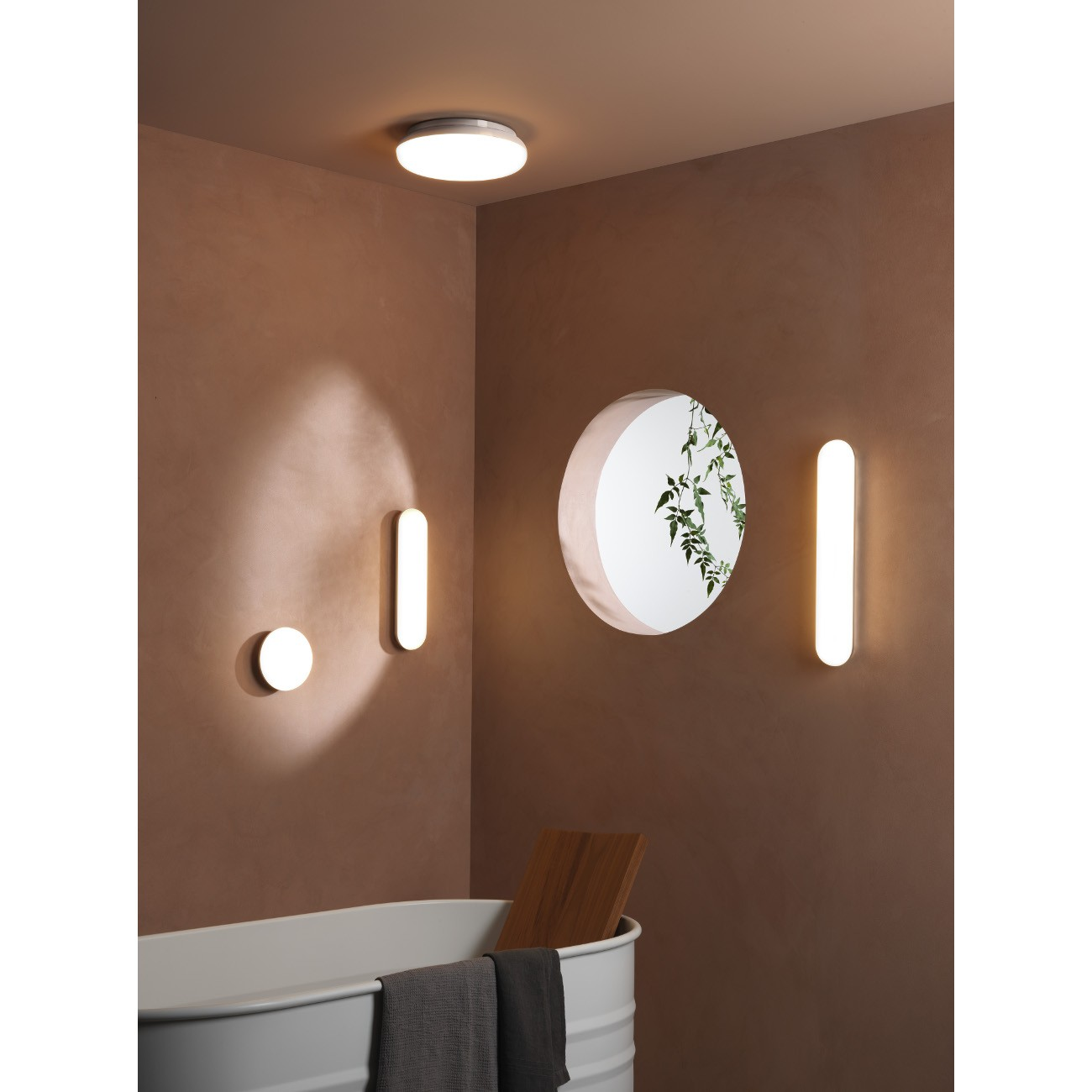 Wandleuchten ALTEA 360 LED Chrom poliert
