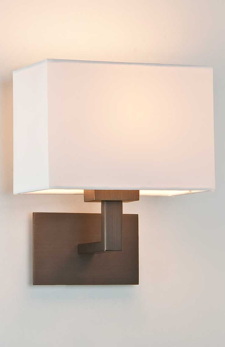 Wandlampe CONNAUGHT BRONZE