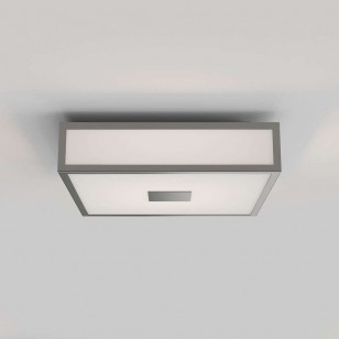 Mashiko 300 Square LED Deckenleuchte, Nickel matt