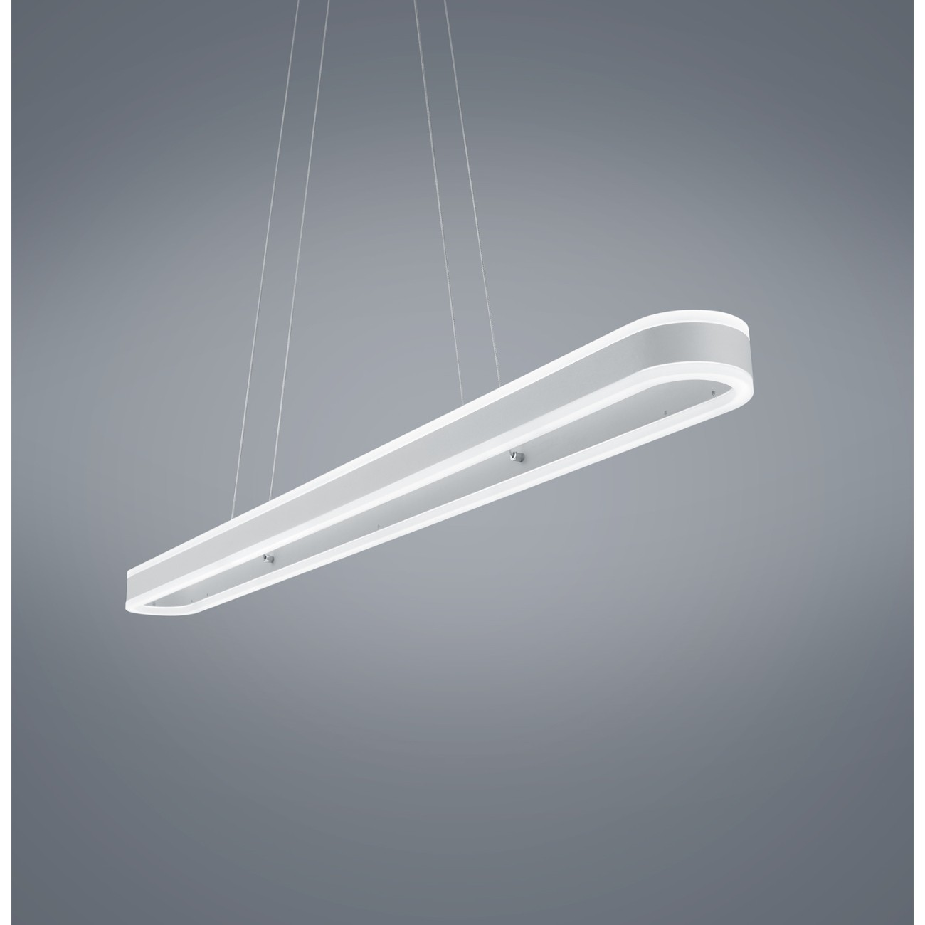 Exklusive dimmbare led pendelleuchte in wei matt liv 26 1892 for Exklusive pendelleuchten