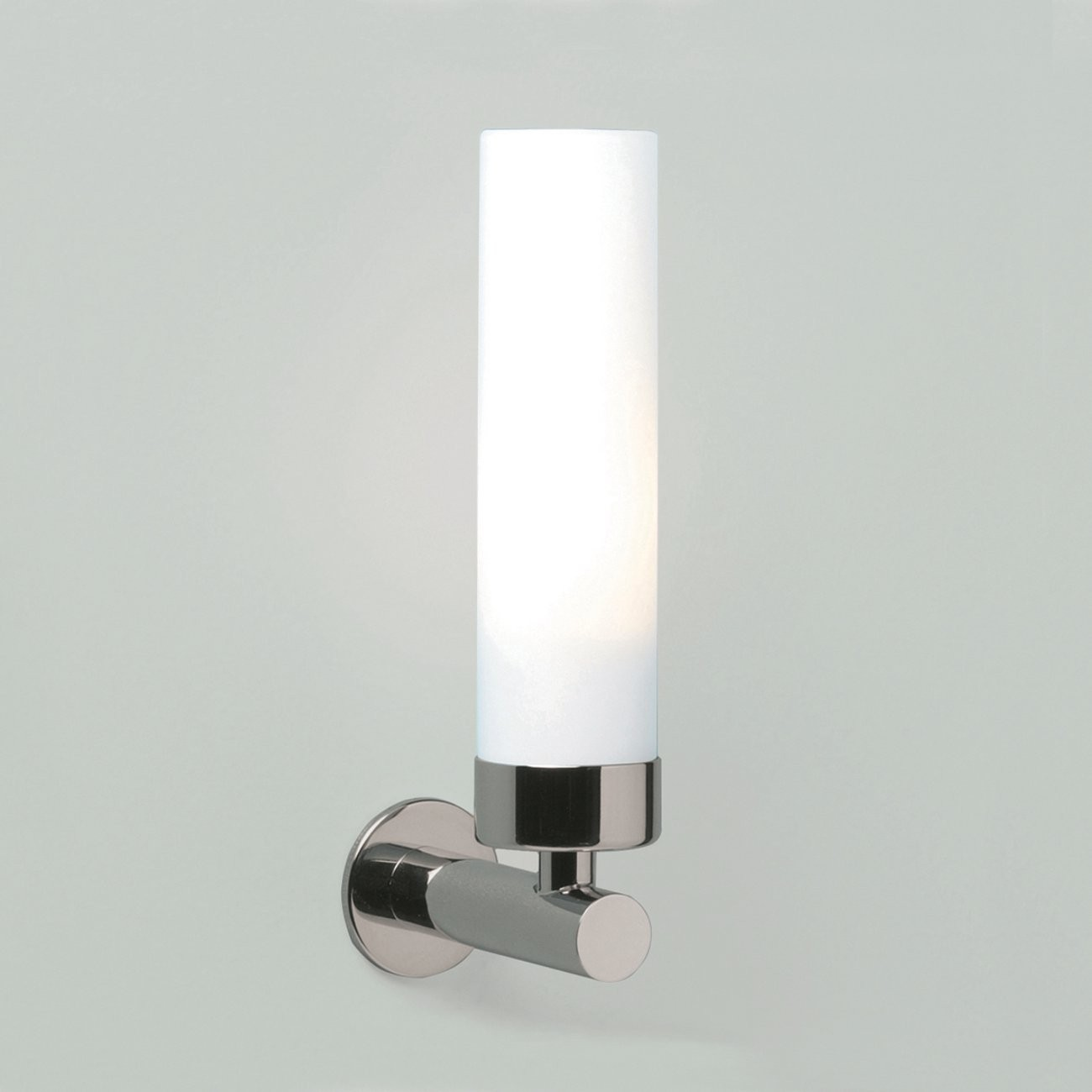 LED-Spiegellampe fürs Bad modern in Chrom und Glas matt IP44 TUBE LED