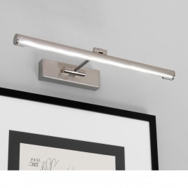 LED-Bilderleuchte 46 cm Länge in stilechtem Design GOYA LED Astro Nickel matt