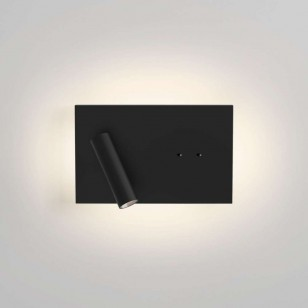 Edge Reader Mini LED Adjustable Wandleuchte, Schwarz