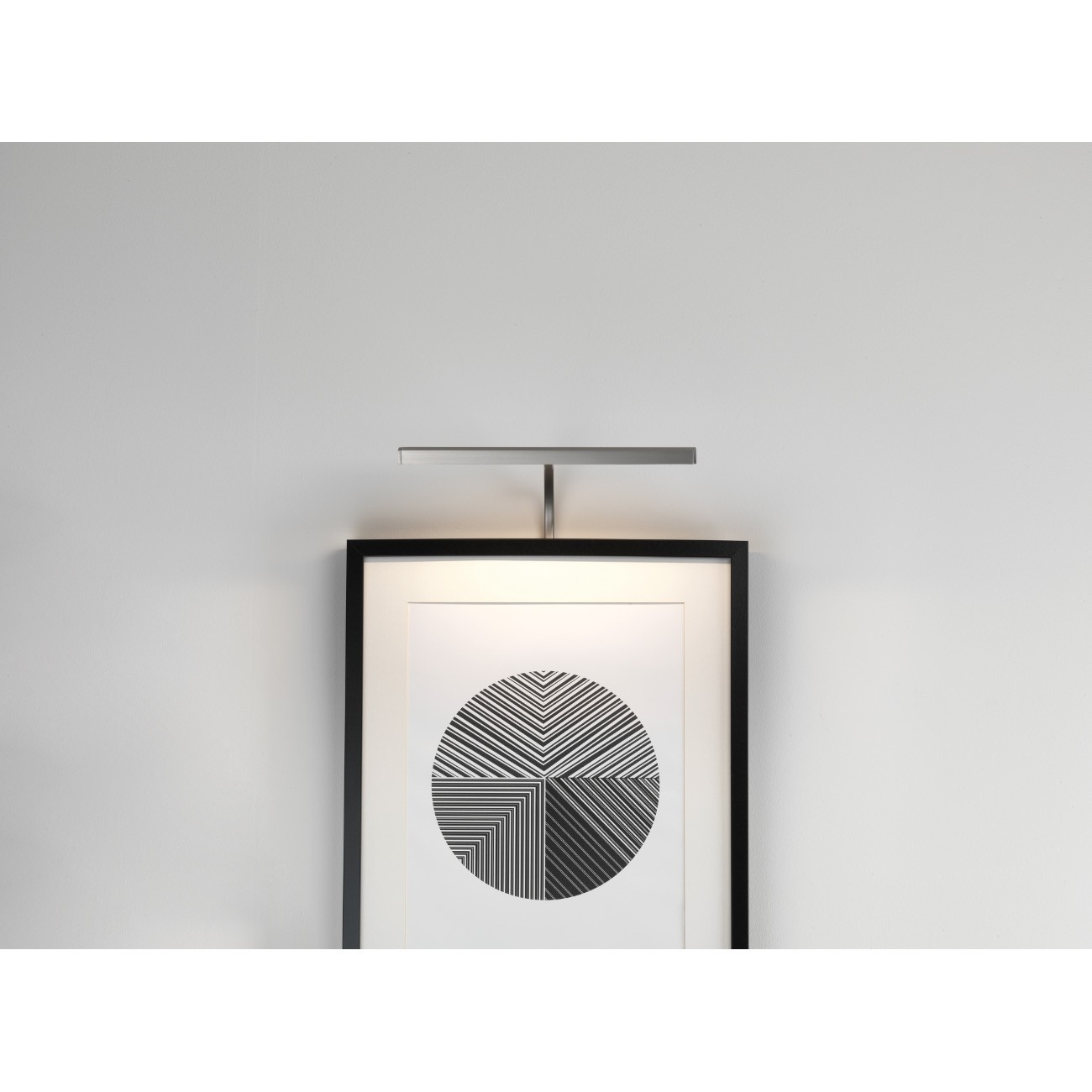 Bilderleuchten MONDRIAN 300 FRAME MOUNTED LED Nickel matt