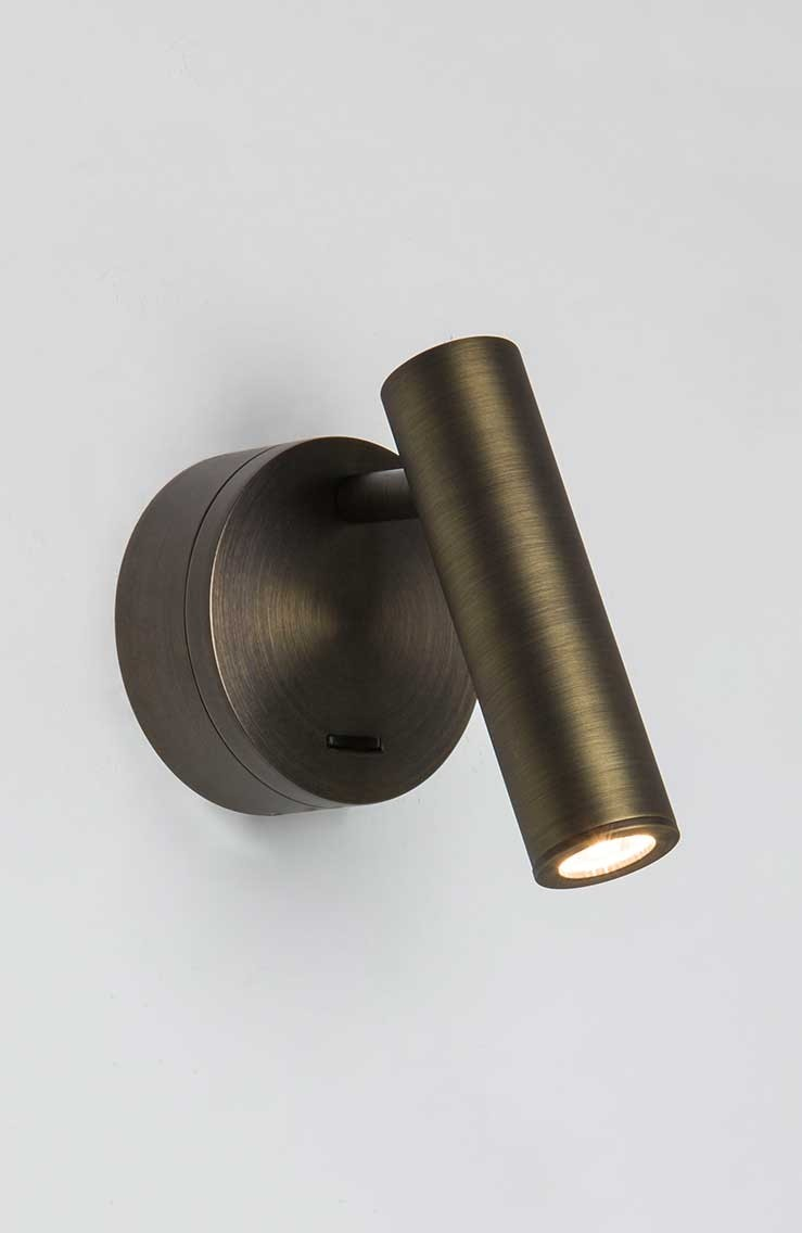 LED Leseleuchte ENNA SURFACE Bronze plattiert