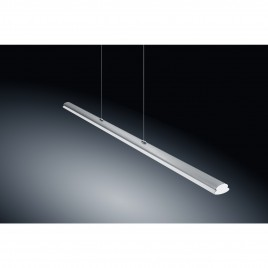 LED-Pendelleuchte VENTA 16/ 1505 Nickel matt/ Chrom