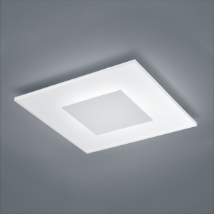 LED-Deckenlampe VADA 15/1729 Nickel matt