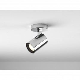 Decken- / Wandspot IP44 AQUA SINGLE Chrom poliert