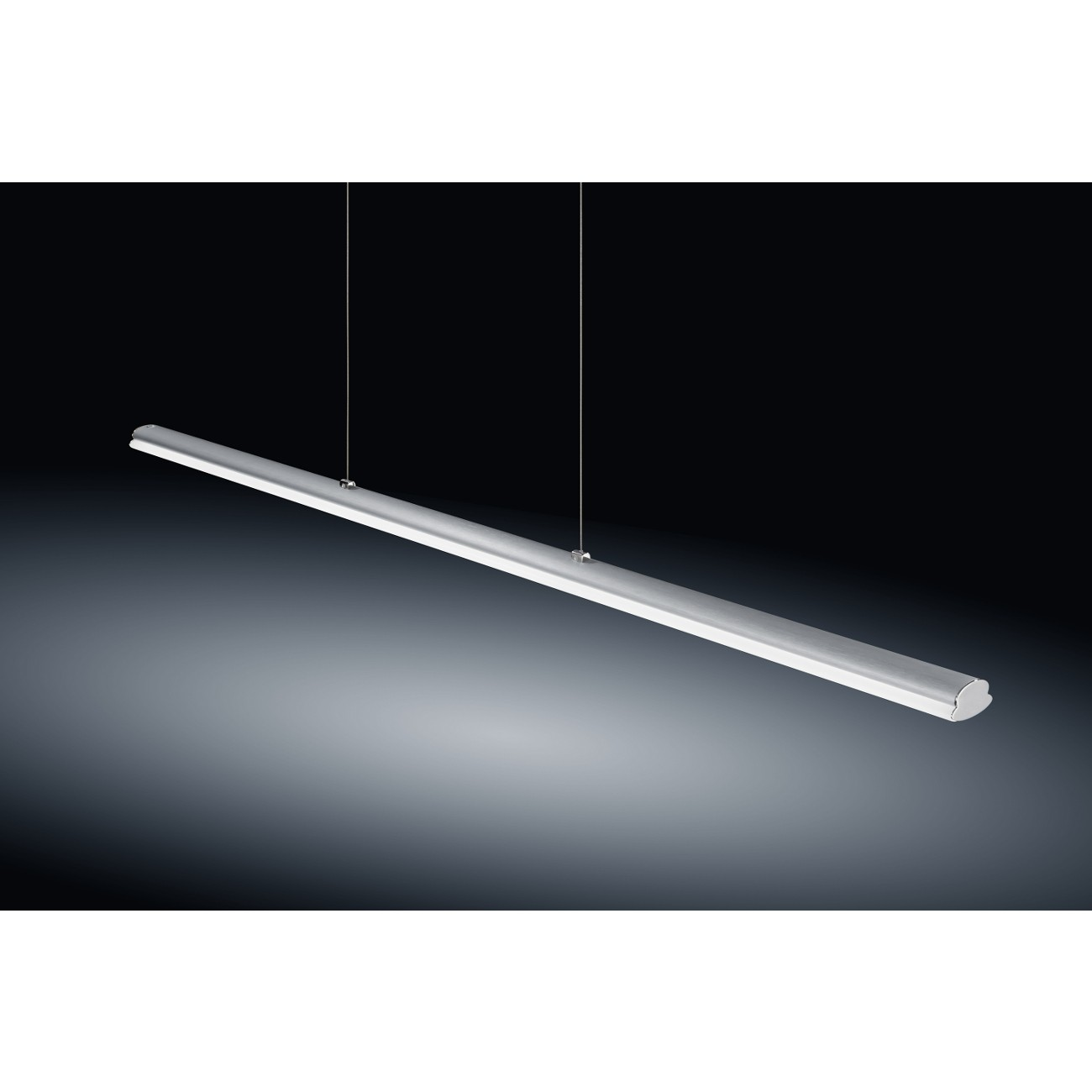 LED-Pendelleuchte VENTA 16/ 1645 Nickel matt/ Chrom