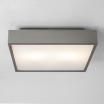 LED Deckenlampe / Wandleuchte fürs Bad in modernem Design TAKETA LED Astro Silber