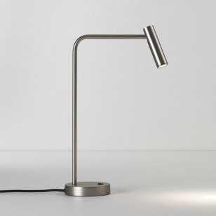 Tischleuchten ENNA DESK LED Nickel matt